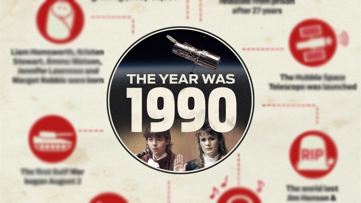 The Year Was 1990: Pamela & Greggory Smart