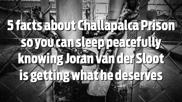 5 Harsh Facts About Joran van der Sloot's Prison Life