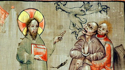 Exorcism in Art