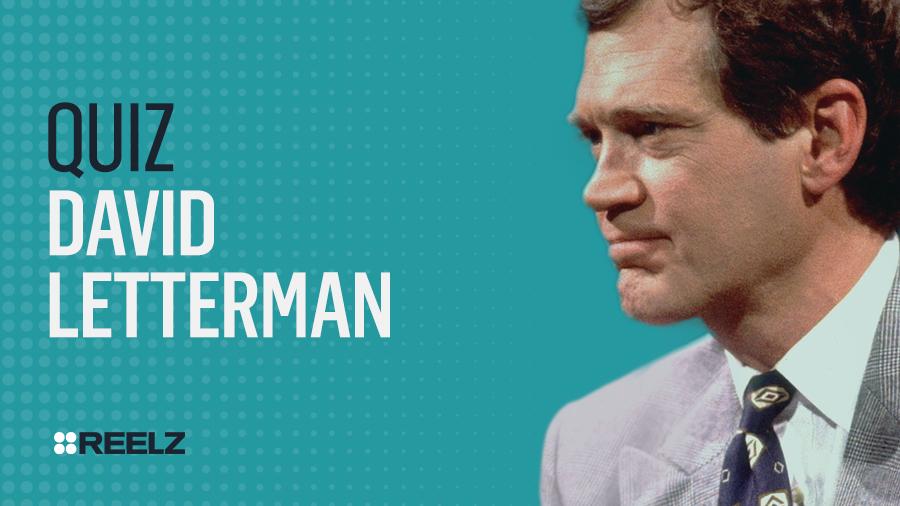 Celebrity Quiz: David Letterman