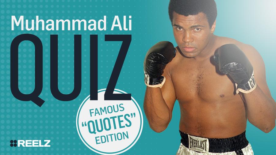 Celebrity Quiz: Muhammad Ali