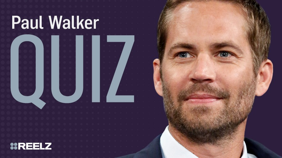 Celebrity Quiz: Paul Walker