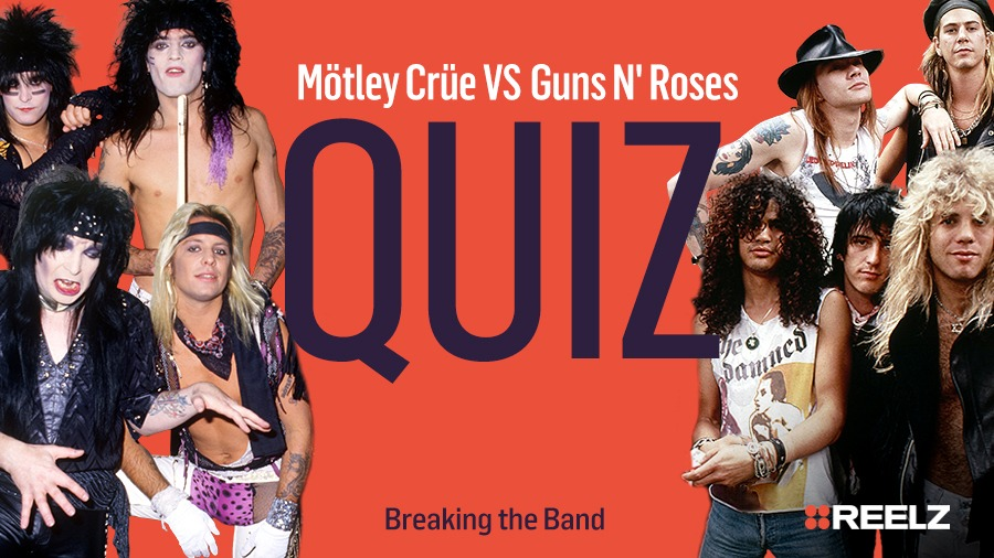 Celebrity Quiz: Motley Crue VS Guns N' Roses