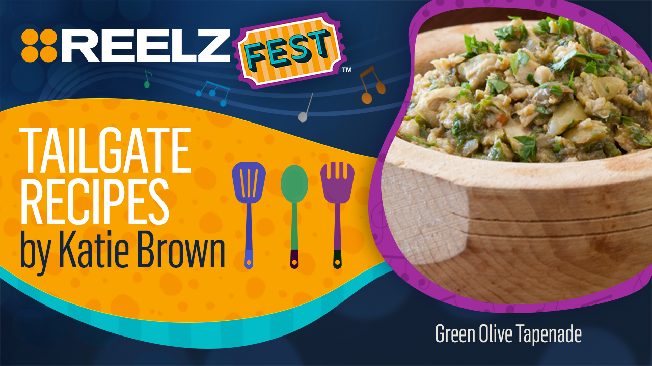 REELZFest™ Green Olive Tapenade Recipe